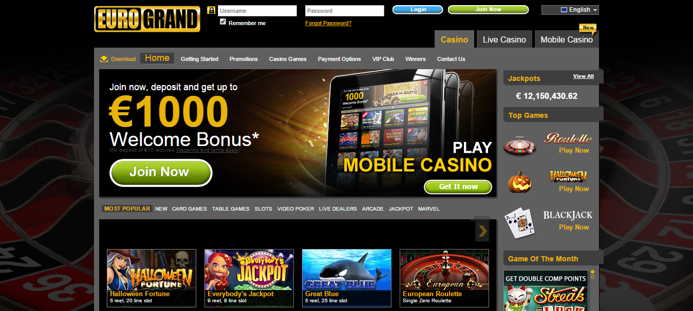 casino eurogrand download