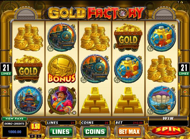 gold factory free slots